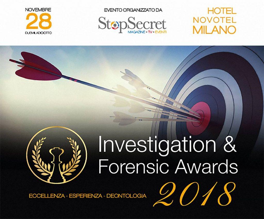 investigation forensic awards 2018